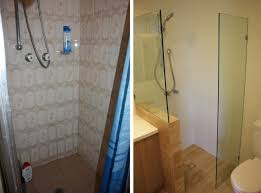 so yes if you are also renovating a tiny ensuite i would think seriously about getting frameless glass an open door and skipping the shower curtain
