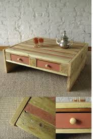 oriental style pallet coffee table
