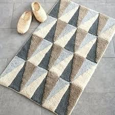 pottery barn bath mat spacious bathroom rugats at classic rug organic plush black m