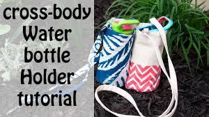 Cross body Water bottle holder bag tutorial - YouTube & Cross body Water bottle holder bag tutorial Adamdwight.com