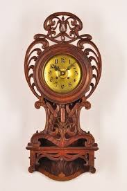 art nouveau wall clock 95 best art nouveau clocks images on pinterest on art deco wall clock antique with 1930s ferranti electric clock mantel clock art deco clock vintage