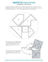 Theorem Worksheet Geometry Worksheets For All Free Easy Pythagorean ...