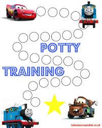 Free Printable Thomas And Cars Potty Training Chart Potty