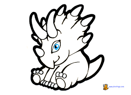 Small Picture Baby dinosaur coloring pages