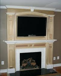 diy rustic fireplace mantel shelf build molding innovative ideas mantels surrounds surround build fireplace mantel