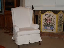 collection of solutions slipcover for wingback chair shabby chic chair covers ideas cool slipcovered wingback chair