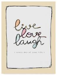 love laugh modern canvas art