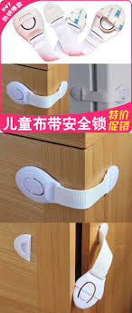 Child Safety For Cabinets Child Safety Lock Strap Lock Baby Safety Lock Drawer Cabinet Door