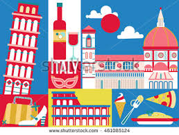 Small Picture Italy Travel Concept Design Poster Home Stock Vector 461085124