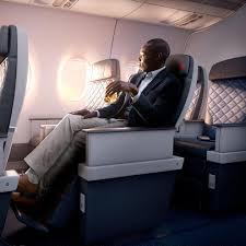customer reclinning in seat