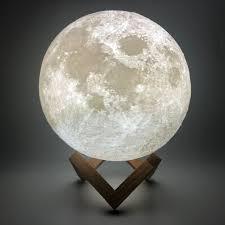 <b>CHIZAO 3D Print LED</b> Lampe Mond Erde Jupiter Hause ...