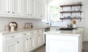off white subway tile backsplash off white kitchen cabinets with white subway tile best of show