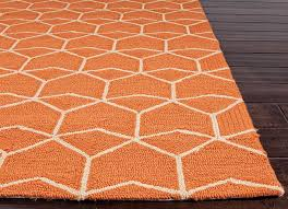 outdoor area rugs orange