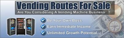 Buying Vending Machines Business