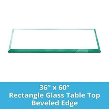 beveled glass table top inch rectangle glass table top 1 4 thick bevel polished edge 5 beveled glass table top