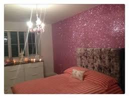 glitter wallpaper bedroom ideas room
