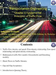 Highway & Traffic Engineering   Traffic   Land Transport