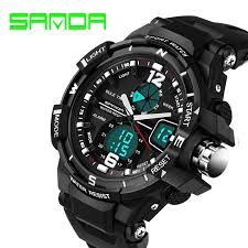 g shock watches men reviews online shopping g shock watches men 2016 new brand sanda fashion watch men g style waterproof sports military watches shock luxury analog digital sports watches men
