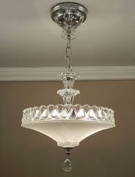 american made lighting fixtures. antique 1940s vintage american art deco white pressed glass \u0026 chrome ceiling light fixture chandelier rewired made lighting fixtures