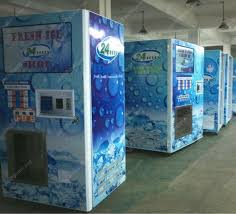 Commercial Ice Vending Machine Fascinating Ice Vending Machine With Auto Bagged Ice Vending Machine With Auto