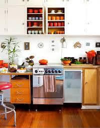Update Your Kitchen on a Budget. Orange Kitchen DecorOrange ...