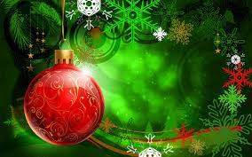 Red And Green Christmas Wallpaper Hd
