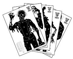 129 best zombie apocalypse images on pinterest zombie apocalypse White House Zombie Apocalypse Plan killer targets zombie shooting targets 2 of each, 12 pack Castle Tree House Zombie
