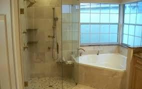 bathtub shower combo menards corner tub engaging combos rod insert