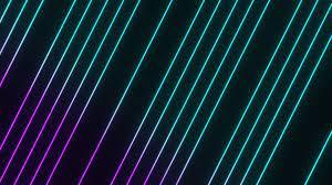 Neon Lines HD Wallpaper