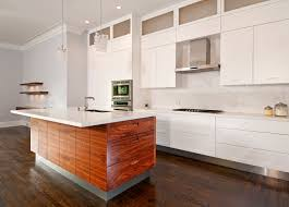 Walnut Kitchen Cabinets Natural Cabinetssilver Stove Modern - Lacquered kitchen cabinets