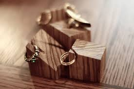 DIY Wooden Ring Holder