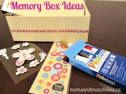 How To Decorate A Memory Box