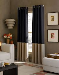 Navy Blue Bedroom Curtains Vue Signature Arashi Ombre Fashion Drapery Curtain Grey 65