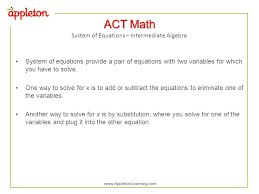 system of equations interate algebra