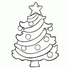 Cijfer Kleurplaat Kerstboom
