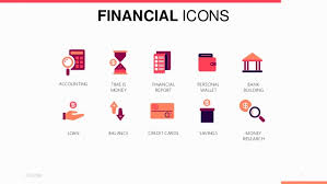 Free Money Ppt Templates Financial Icons Powerpoint Template Free Download