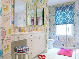 funky bathroom lighting. Adorable Girl S Bathroom Decorating Ideas Pictures Tips From HGTV Of Funky Lighting 0