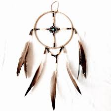 Canadian Made Dream Catchers Authentic dream catcher native made vintage canadian native art 2
