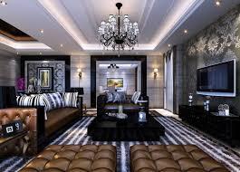 Living Room With Black Furniture Black Furniture For Living Room 3d Design Download 3d House