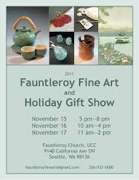 fauntleroy fine art and holiday gift show ing nov 15 17