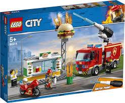 <b>Конструктор LEGO City Fire</b> 60214 Пожар в бургер-кафе — купить ...