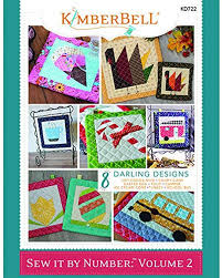 Kimberbell Designs Kimberbell Designs Book Sew It By Number Volume 2 Kd722