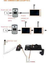 xsl vf l inch color monitor night vision security intercom xsl v70f l 7inch color monitor night vision security intercom system video door phone