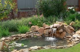 terrific outdoor garden pond ideas 48