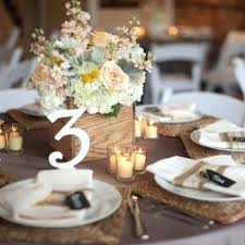 Round Table Settings For Weddings Rustic Wedding Round Table Settings Ideas Pinterest Setting