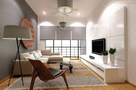 tv room lighting ideas. Fresh Plants Decor Beside Modern Television Facing Sectional Sofa Plus Interesting Living Room Lighting Ideas Tv