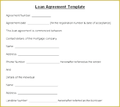 Basic Loan Agreement Template