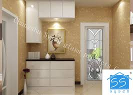 Security Tempered Glass Panels , Architectural Decorative Door Glass ...