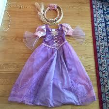 girl size 5 dresses disney dresses rapunzel costume gown little girl size 56 poshmark