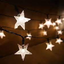 star shaped lighting. Lights/Star Shaped LED String Fairy Lights. ;  Star Lighting E